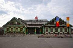 L'hôtel est dans le vieux style russe dans Suzdal images libres de droits