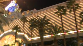 L'hôtel et casino de Harrah banque de vidéos