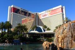 L'hôtel et casino de mirage, Las Vegas, nanovolt Photo libre de droits