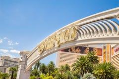L'hôtel et le casino de mirage Images libres de droits