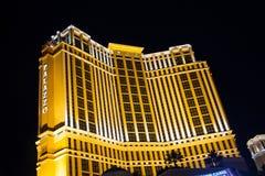 L'hôtel et le casino de Palazzo à Las Vegas. Photographie stock