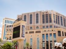 L'hôtel et le casino de Palazzo Photo libre de droits