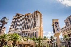 L'hôtel et le casino de Palazzo Photo stock