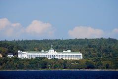 L'hôtel grand de l'île de Mackinac. Image libre de droits