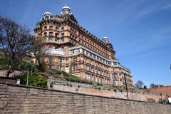 L'hôtel grand, Scarborough Photos stock