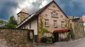 L'hôtel Schloss Eberstein banque de vidéos
