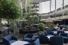 L'hôtel soit Live Grand Tequise Playa Photo libre de droits