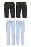L'habillement halète le descripteur   Image stock