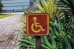 L'handicapé Images libres de droits
