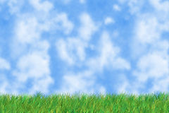 L'herbe est verte images stock