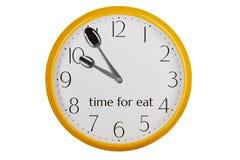 L'heure pour mangent Photographie stock libre de droits