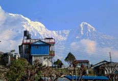 l'himalaya fotografie stock