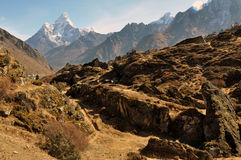 L'Himalaya Ama Dablam photographie stock libre de droits