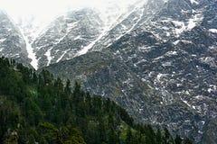 L'Himalaya di Himachal Pradesh fotografia stock libera da diritti