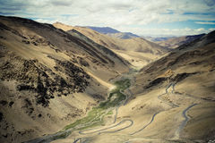 L'Himalaya emozionante. fotografia stock