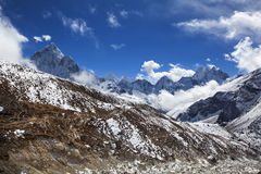 L'Himalaya lumineux Photo stock
