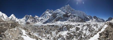 L'Himalaya lumineux Images libres de droits