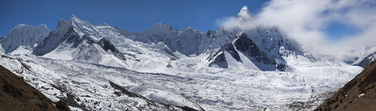 L'Himalaya lumineux photographie stock