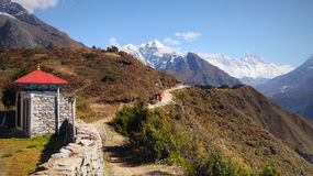 L'Himalaya, montagne, Nepal Fotografia Stock Libera da Diritti