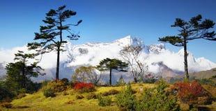 L'Himalaya, montagnes, Népal Image libre de droits