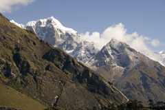 l'Himalaya - Népal Photographie stock