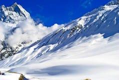 L'Himalaya nelle nuvole Fotografie Stock Libere da Diritti
