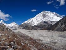 L'Himalaya Nuptse Fotografia Stock