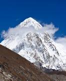 L'Himalaya Pumo Ri Fotografia Stock