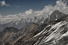 L'Himalaya scenica Fotografia Stock