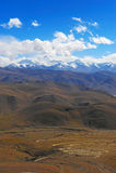 L'Himalaya, strada al supporto Everest Immagine Stock Libera da Diritti
