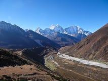 L'Himalaya. Thamserku Fotografia Stock