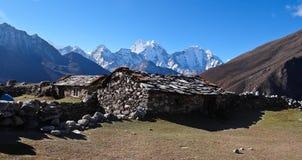 L'Himalaya. Thamserku Immagini Stock Libere da Diritti