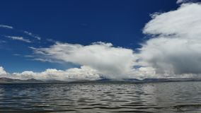 L'Himalaya Thibet de Manasarovar de lac mountain clips vidéos