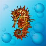 L'hippocampe illustration de vecteur