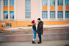 L'histoire d'amour Image libre de droits