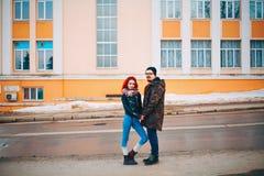 L'histoire d'amour Photos libres de droits