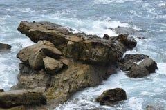 L'histoire d'une vie du ` s de roche Photo stock