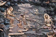 L'histoire de Bouddha images stock