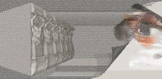 L'histoire de l'humanité Illustration de Vecteur
