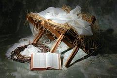 L'histoire de Noël Photographie stock libre de droits