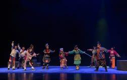 """L'histoire des vieux du  de teenager†de Pékin Opera""""Yue eunuque-enfants Image libre de droits"""