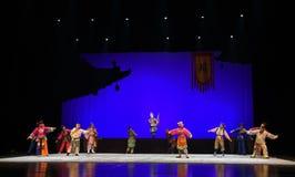 """L'histoire des vieux du  de teenager†de Pékin Opera""""Yue eunuque-enfants Images stock"""
