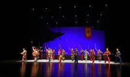 """L'histoire des vieux du  de teenager†de Pékin Opera""""Yue eunuque-enfants Photographie stock libre de droits"""