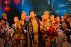 L'histoire du gala de festival de printemps de Vasily-2007 Jiangxi photo stock