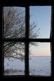 L'hiver à l'extérieur image libre de droits
