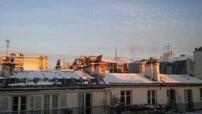 L'hiver à Paris Image stock