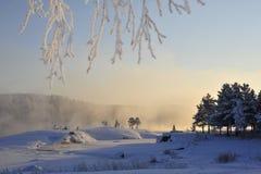 L'hiver émotif Image libre de droits