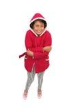 l'hiver adorable de fille de vêtements Photos libres de droits