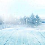 L'hiver background Photo libre de droits