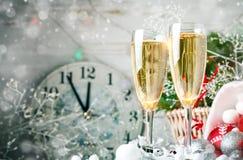 L'hiver background Jouets du ` s de nouvelle année an neuf heureux de Noël joyeux photographie stock libre de droits